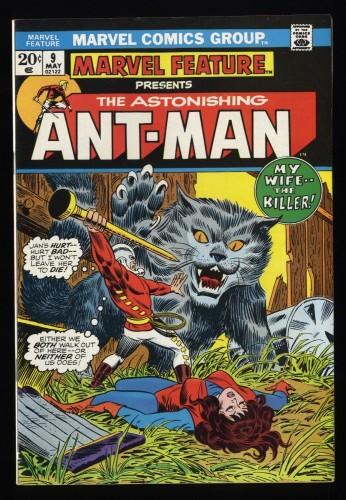 Marvel Feature #9 NM- 9.2 Comics Ant-Man!