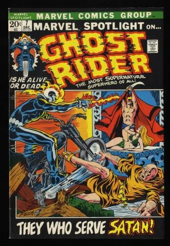 Marvel Spotlight #7 VF 8.0 Comics Ghost Rider!