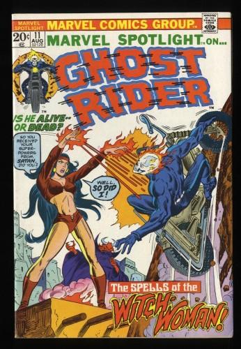 Marvel Spotlight #11 VF 8.0 Comics Ghost Rider!