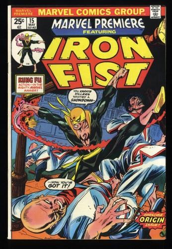 Marvel Premiere #15 VF 8.0 Comics 1st Iron Fist!