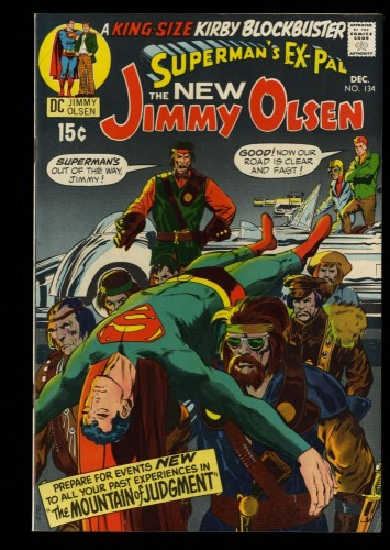 Superman's Pal, Jimmy Olsen #134 VF 8.0 1st Darkseid!