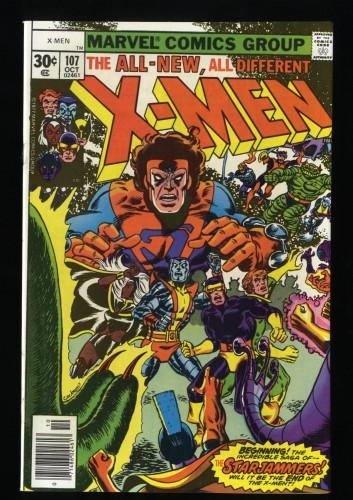 X-Men #107 NM+ 9.6 Marvel Comics 1st Full Starjammers!