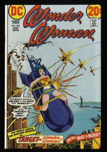 Wonder Woman #205 NM/M 9.8
