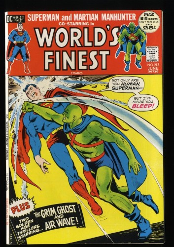 World's Finest Comics #212 NM+ 9.6