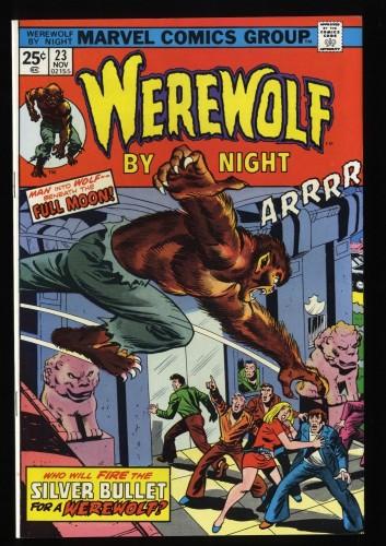 Werewolf By Night #23 VF+ 8.5