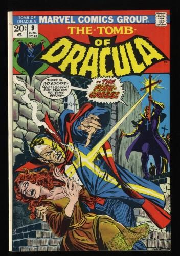 Tomb Of Dracula #9 NM 9.4 Marvel Comics
