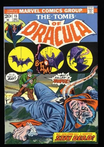 Tomb Of Dracula #15 NM+ 9.6 Marvel Comics