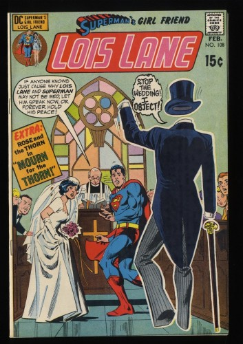 Superman's Girl Friend, Lois Lane #108 NM- 9.2