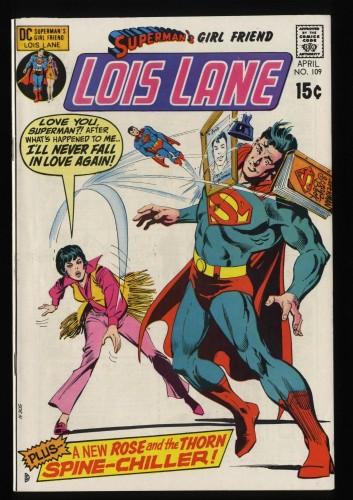 Superman's Girl Friend, Lois Lane #109 NM- 9.2