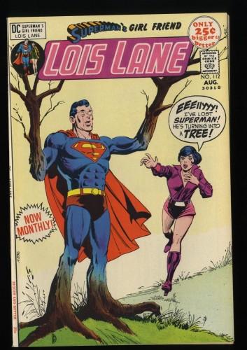 Superman's Girl Friend, Lois Lane #112 VF+ 8.5
