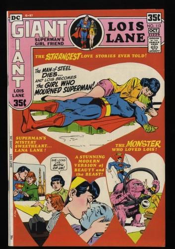 Superman's Girl Friend, Lois Lane #113 VF 8.0