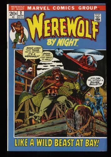 Werewolf By Night #2 FN/VF 7.0