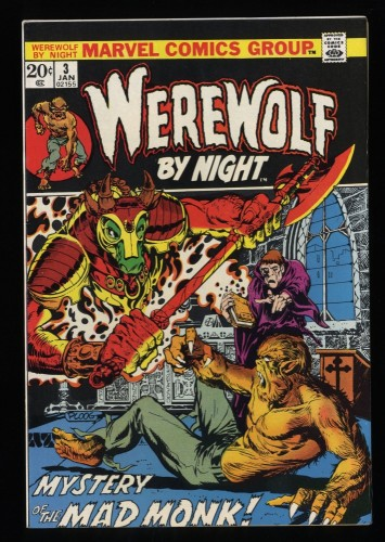 Werewolf By Night #3 VF/NM 9.0