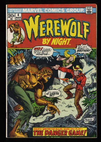 Werewolf By Night #4 VF 8.0