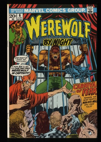 Werewolf By Night #6 NM+ 9.6