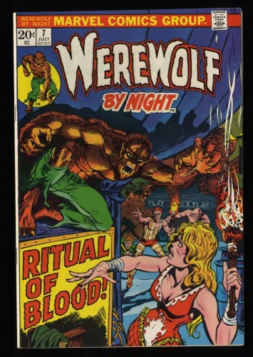 Werewolf By Night #7 VF/NM 9.0