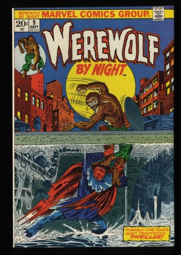 Werewolf By Night #9 VF 8.0