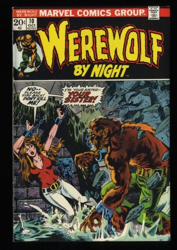 Werewolf By Night #10 VF/NM 9.0