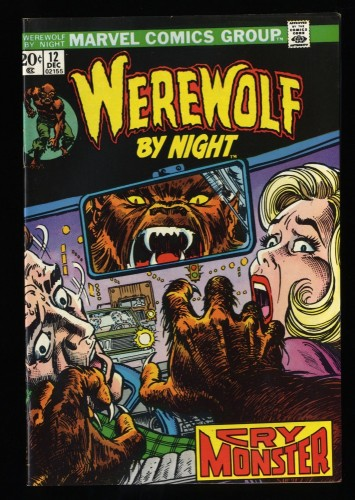 Werewolf By Night #12 VF+ 8.5