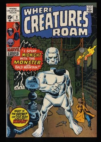Where Creatures Roam #2 VF/NM 9.0