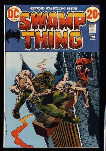 Swamp Thing #2 VF 8.0