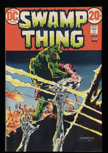 Swamp Thing #3 VF+ 8.5