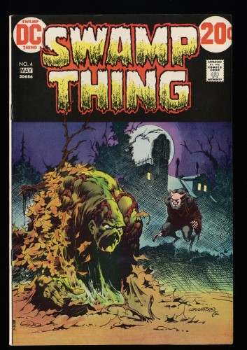Swamp Thing #4 VF/NM 9.0