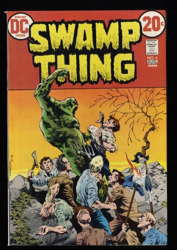 Swamp Thing #5 VF+ 8.5