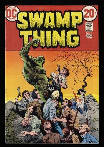Swamp Thing #5 VF/NM 9.0
