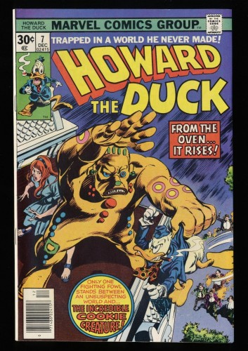 Howard the Duck #7 NM+ 9.6