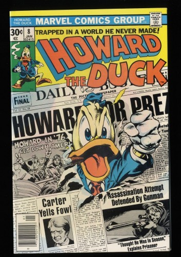 Howard the Duck #8 NM 9.4