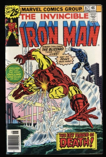 Iron Man #87 NM 9.4 Marvel Comics