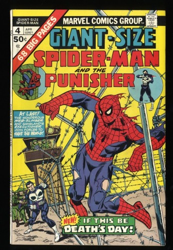 Giant-Size Spider-Man #4 VF 8.0 3rd Punisher!