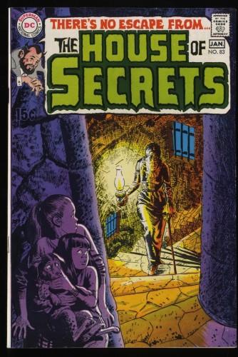 House Of Secrets #83 VF- 7.5 DC Comics