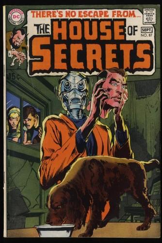 House Of Secrets #87 FN- 5.5 DC Comics