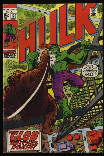 Incredible Hulk (1968) #129 FN/VF 7.0 Marvel Comics