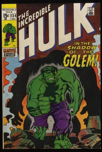 Incredible Hulk (1968) #134 VF+ 8.5 Marvel Comics