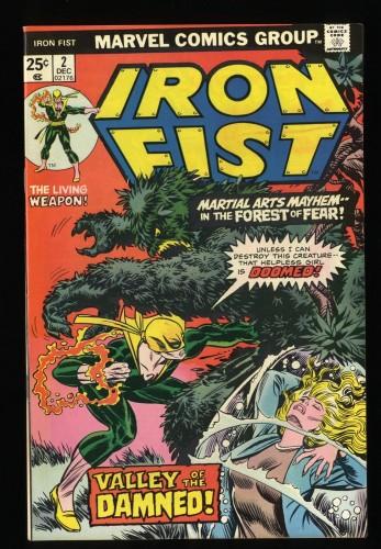 Iron Fist #2 VF 8.0