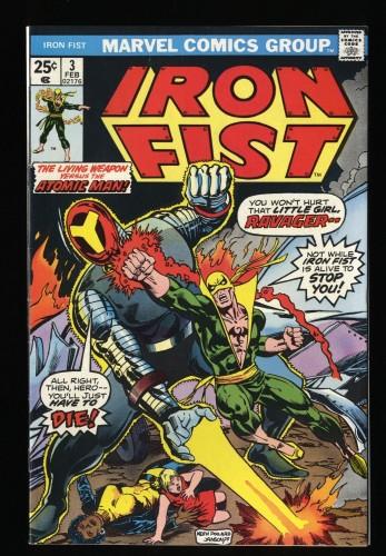 Iron Fist #3 FN/VF 7.0