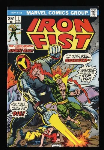 Iron Fist #3 VF- 7.5