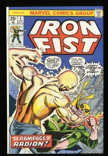 Iron Fist #4 VF 8.0