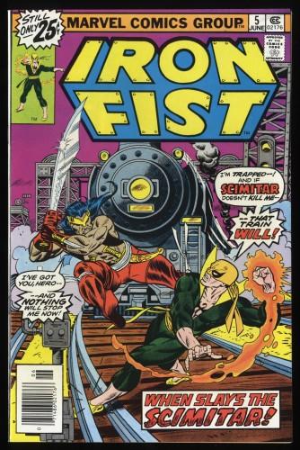 Iron Fist #5 VF/NM 9.0