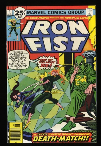 Iron Fist #6 VF+ 8.5