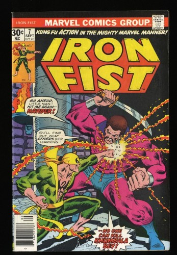 Iron Fist #7 VF 8.0