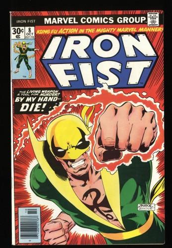 Iron Fist #8 NM- 9.2 Origin Retold!