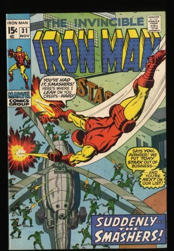 Iron Man #31 VF- 7.5 Marvel Comics