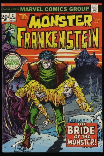 Frankenstein #2 FN 6.0 Marvel Comics