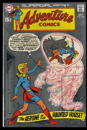Adventure Comics #395 VF+ 8.5 DC Superman