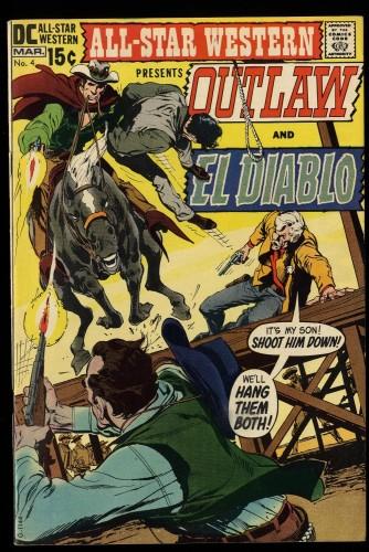 All-Star Western #4 FN/VF 7.0 Neal Adams Art!