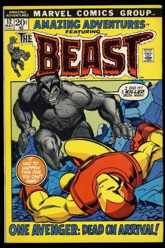Amazing Adventures #12 FN/VF 7.0 Beast!